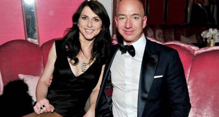 MacKenzie Tuttle y Jeff Bezos