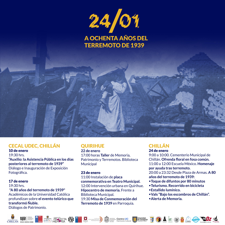 Calendario - UPA Chillán