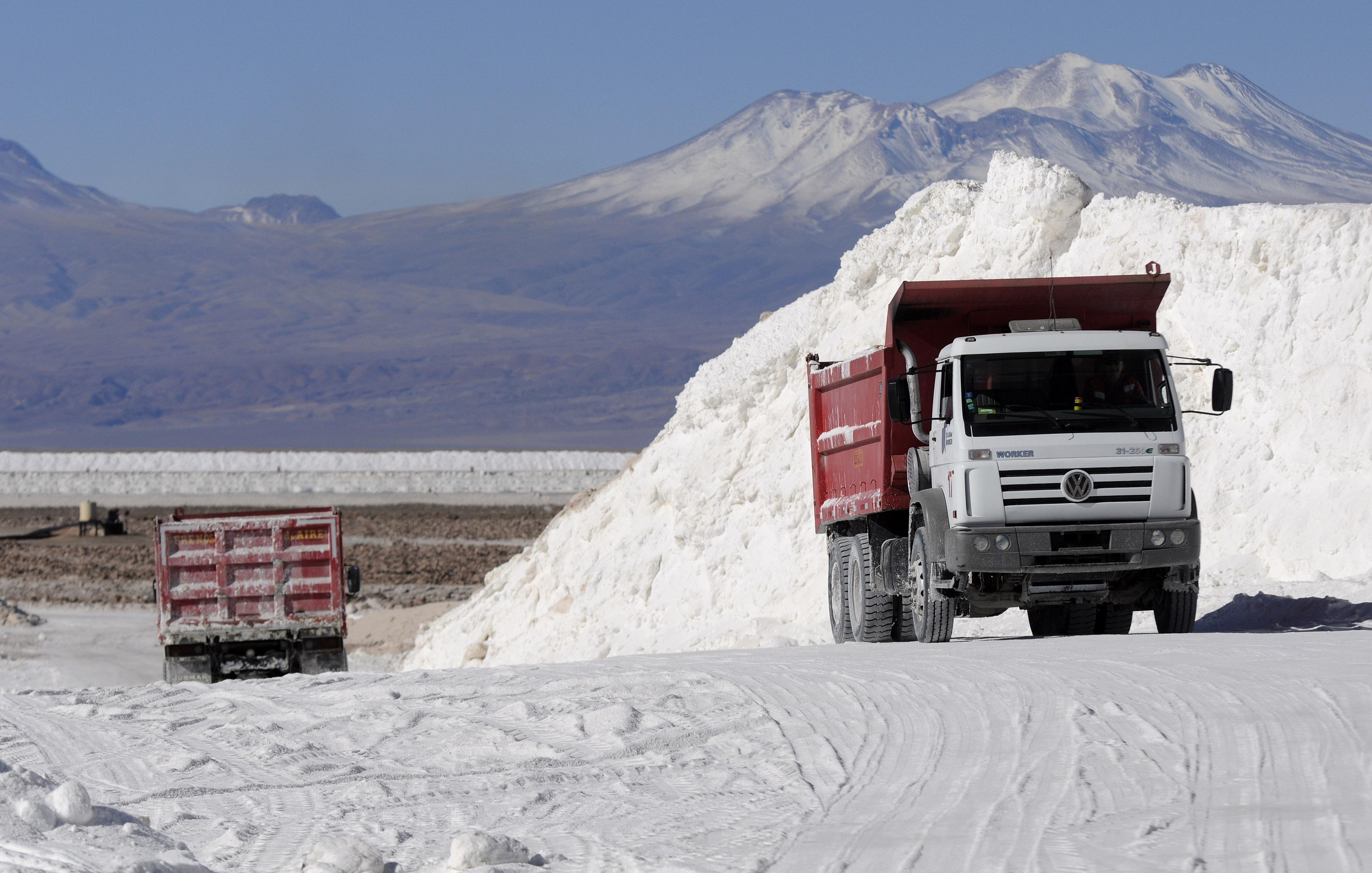 Faenas de extracción de litio de SQM en Salar de Atacama | Ariel Marinkovic | AgenciaUNO