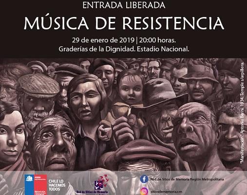 Afiche de Música de Resistencia