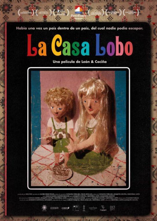 """Afiche """"La Casa Lobo"""""""