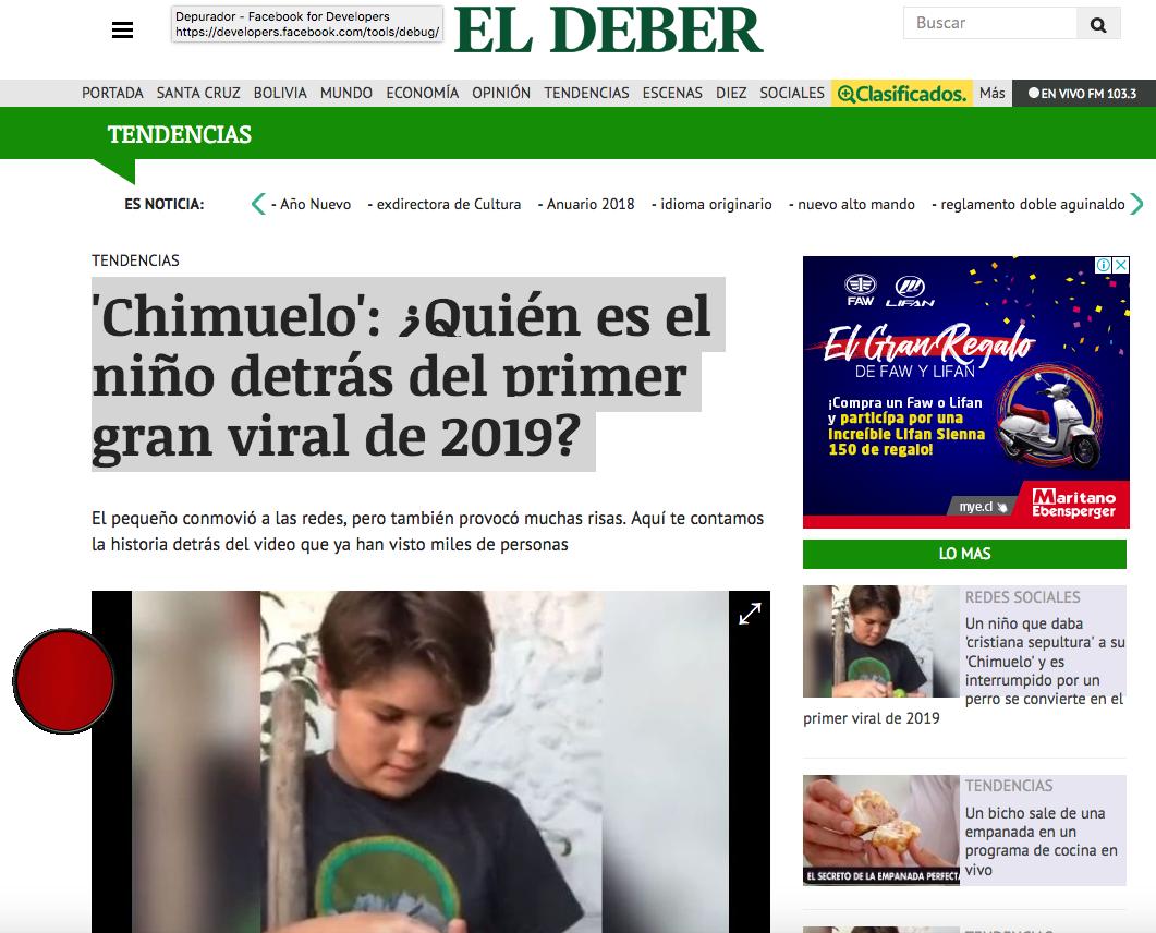 El Deber | Bolivia