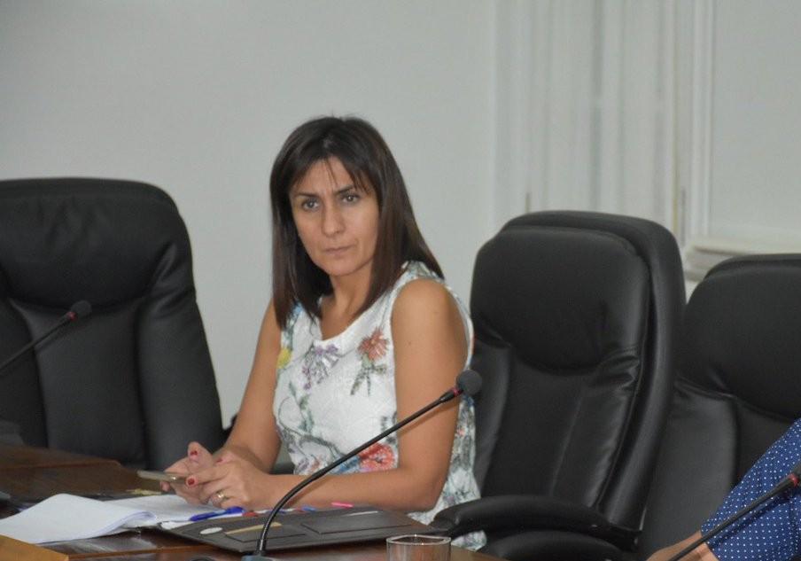 Gobernadora de Diguillín, Paola Becker   Gobernación de Diguillín