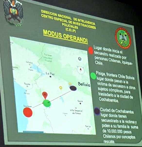 Twitter | Policía de Bolivia