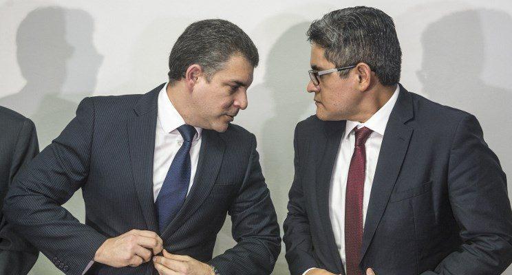 Rafael Vela y José Domingo Perez | ARCHIVO | Agence France-Presse