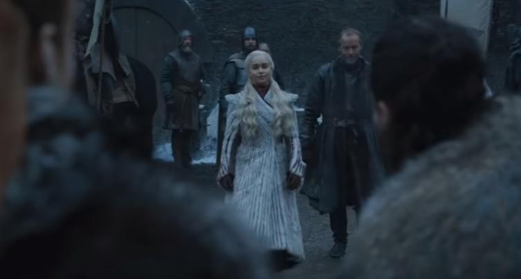 Daenerys Targaryen | Game of Thrones 08x01