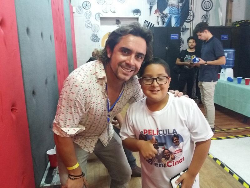 Santa Ana and Mario Rivas