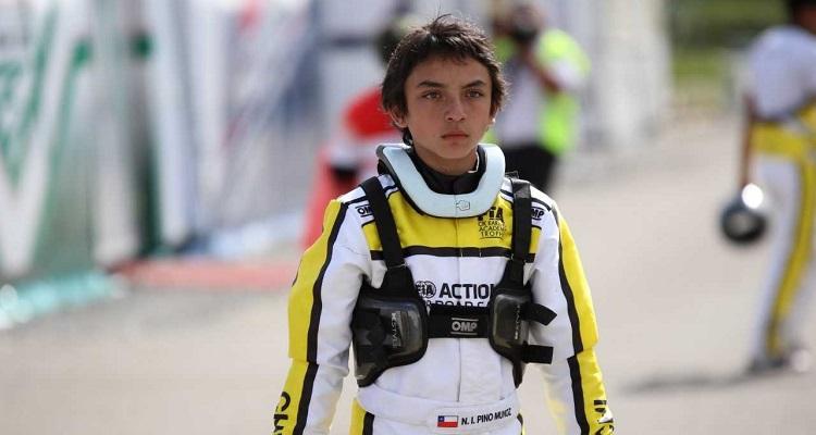 Nicolás Pino: la joven promesa del automovilismo nacional que se la juega en el extranjero