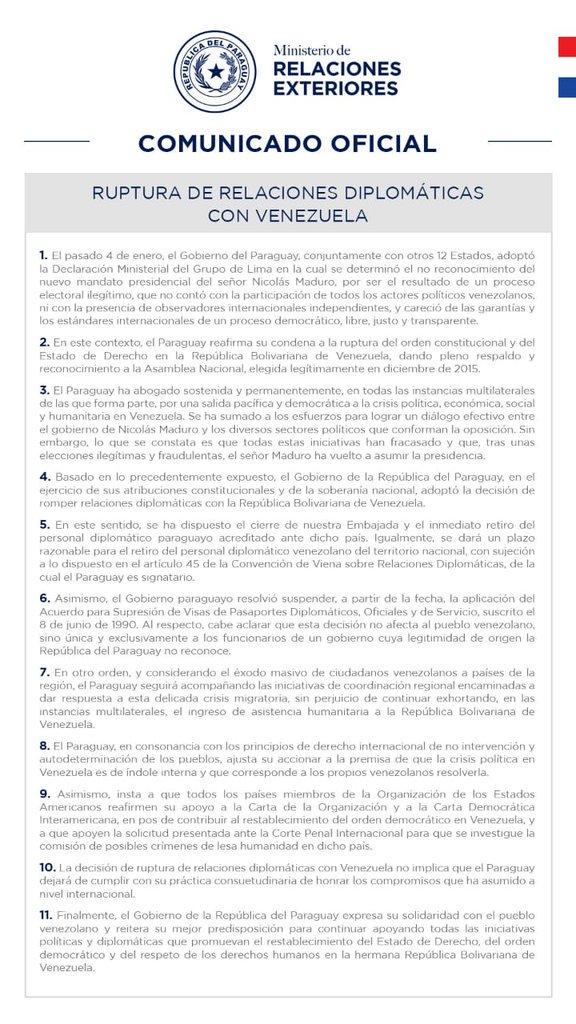 Mario Adbo Benítez | Twitter