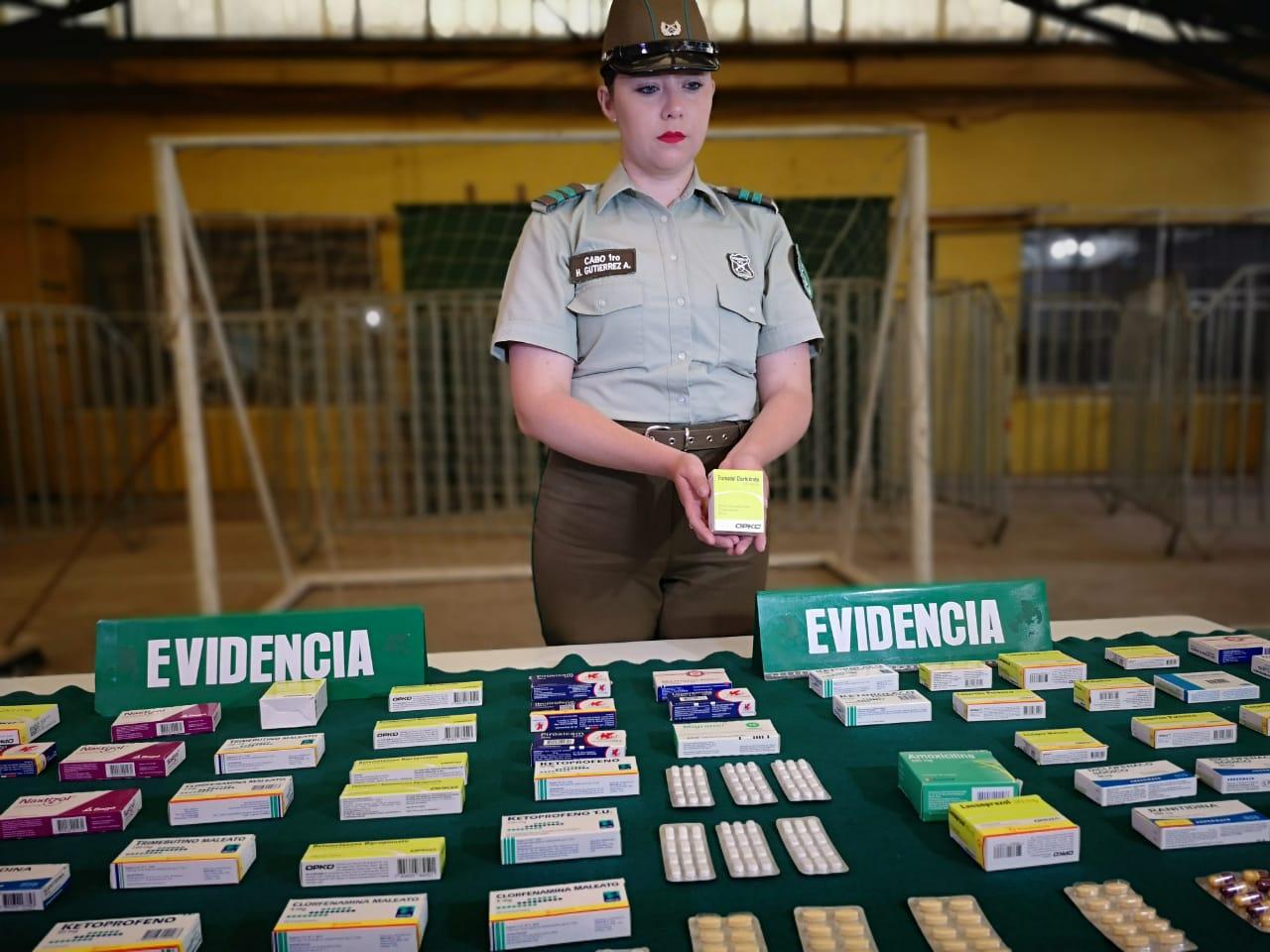 Remedios requisados | Pedro Cid (RBB)