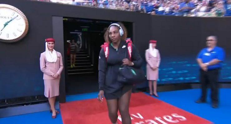 Su cara lo dijo todo: el vergonzoso error de Serena Williams en el Abierto de Australia