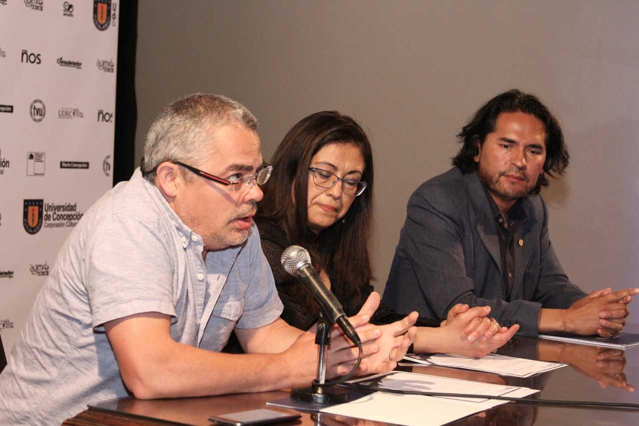 Javier Bustos, Claudia Muñoz y Mario Cabrera