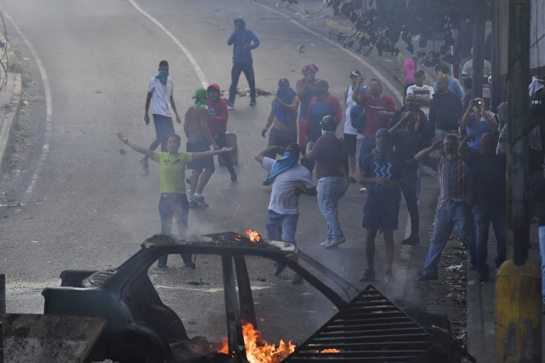 Protestas tras intento de sublevación en Venezuela | ARCHIVO | Agence France-Presse