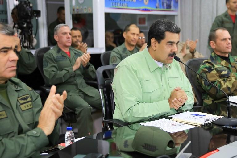 AFP/ Presidencia de Venezuela