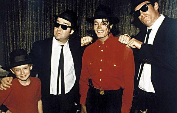 Michael Jackson y Macaulay Culkin