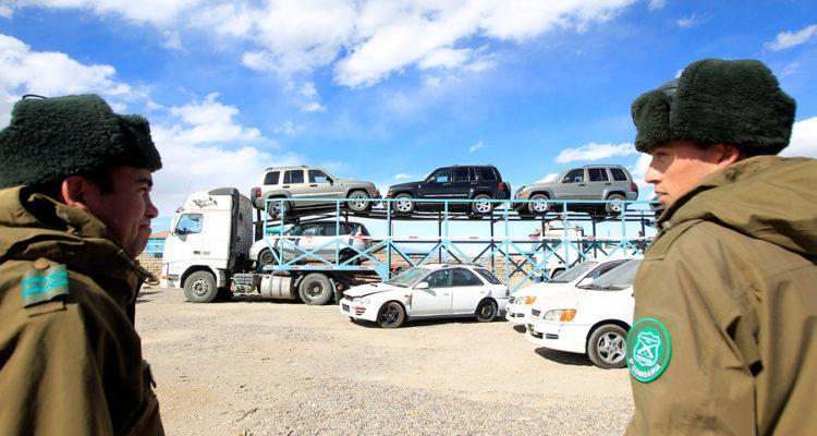 Autos Decomisados por Contrabando | Rodrigo Saenz | Agencia UNO