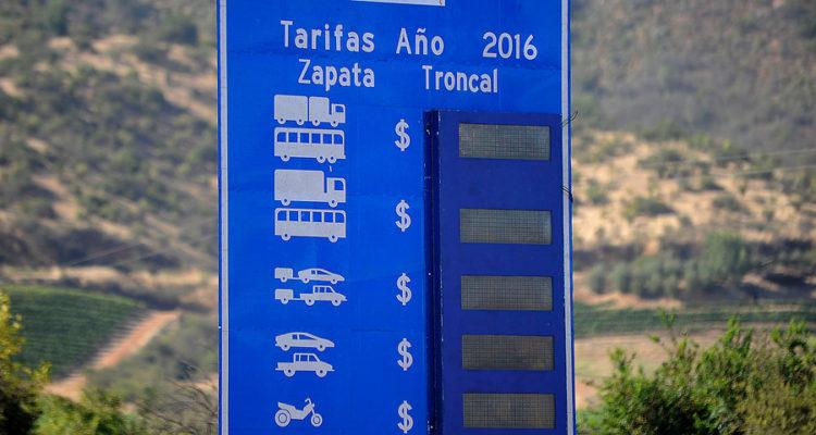 Peaje Ruta 68   Pablo Ovalle   Agencia UNO