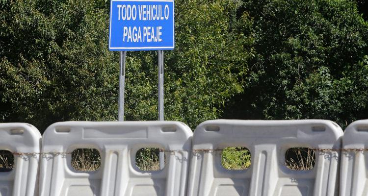 Peaje Agua Amarilla, Ruta del Itata   Alejandro Zoñez   Agencia UNO