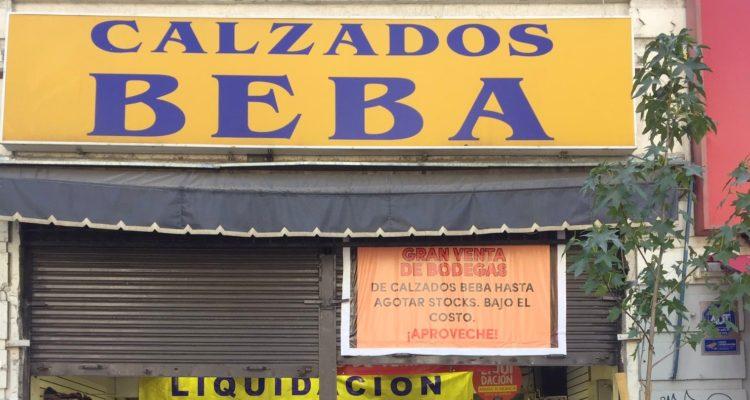 ee3cab75ab Liquidación forzosa de Calzados Beba desata furor con ofertas desde 500  pesos