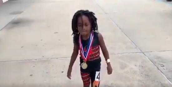 ¿El nuevo Usain Bolt?: niño de siete años causa furor en redes sociales por su increíble velocidad
