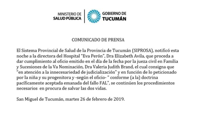 Hospital Eva Perón Tucumán