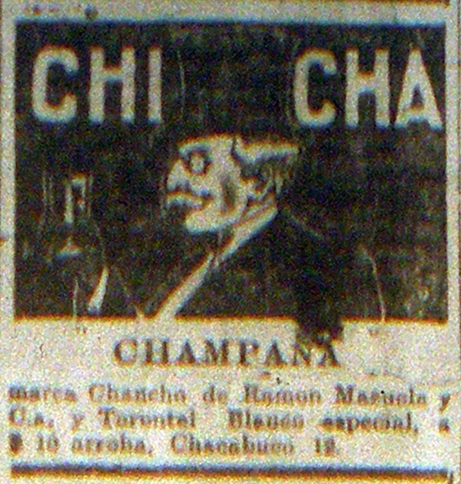 Champaña marca Chancho | Archivo