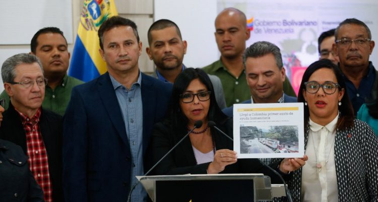 Delcy Rodríguez | Vicepresidencia de Venezuela