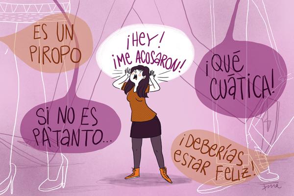 Invisibilización del acoso | Daniela Escorcia