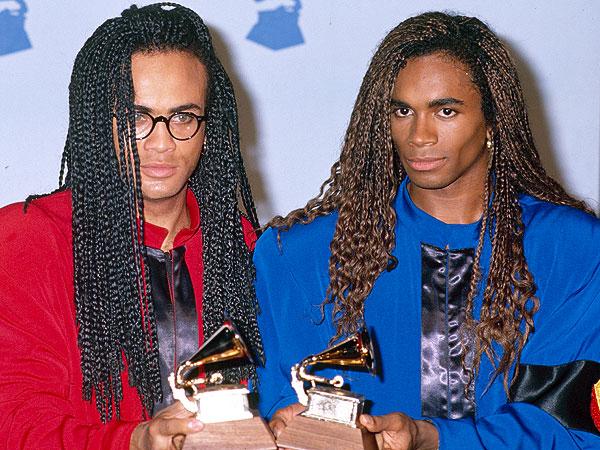 Rob y Fab con su Grammy