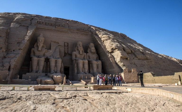 Gran Templo de Ramsés II en Abu Simbel (en noviembre de 2017) |  Khaled Desouki | AFP