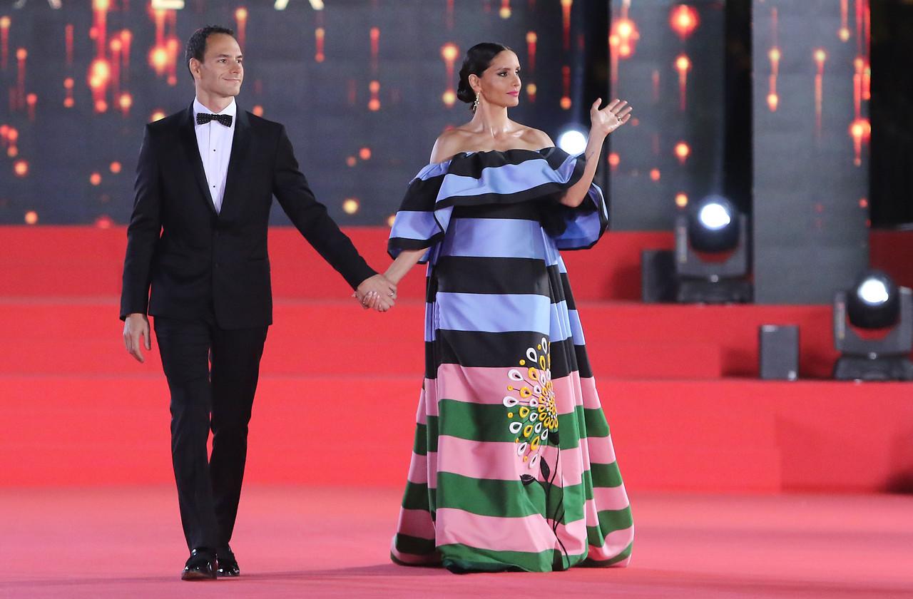 Leonor Varela y Lucas Akoskin | Agencia UNO
