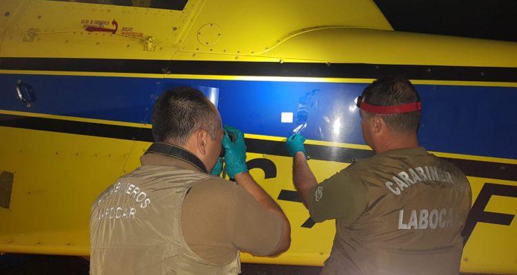 Avioneta atacada en Tirúa   Carabineros de Chile