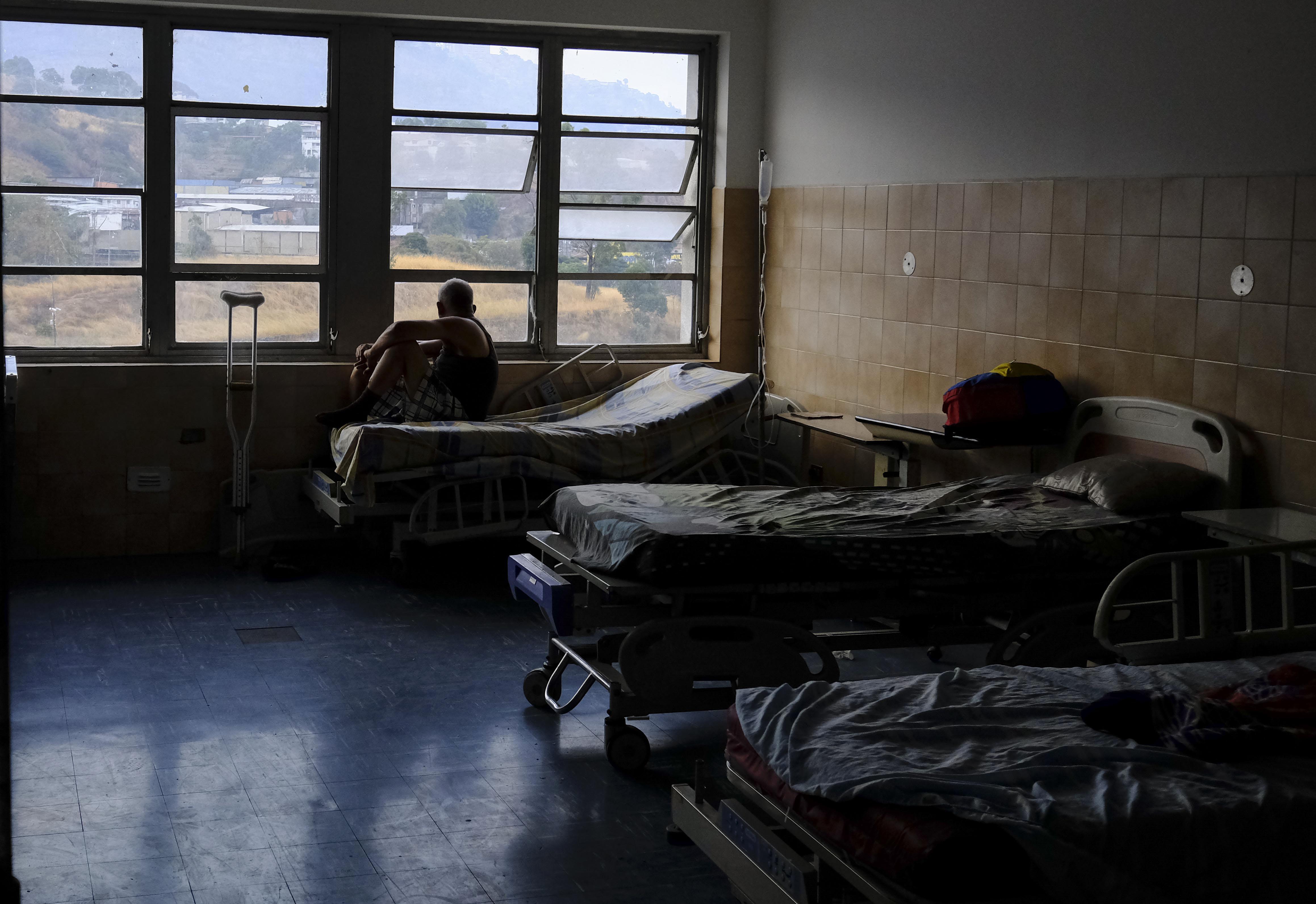 Un paciente en un hospital de Caracas | Matías Delacroix | Agence France-Presse