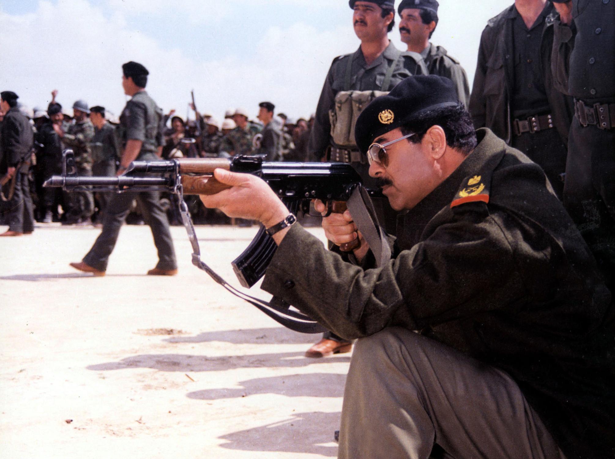 Saddam Hussein en 1987 | Agence France-Presse