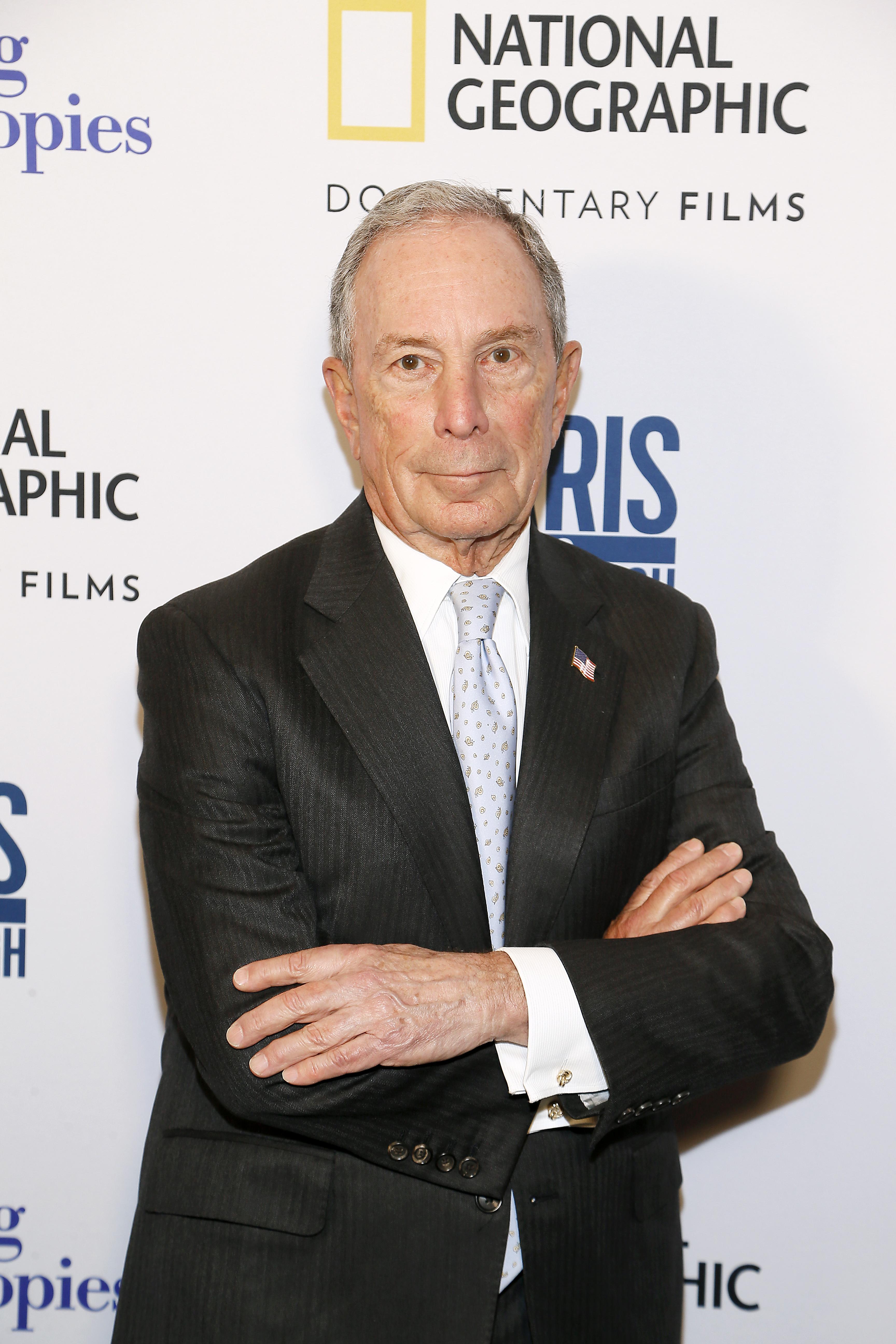 Michael Bloomberg el 13 de febrero de 2019   Paul Morigi   Agence France-Presse