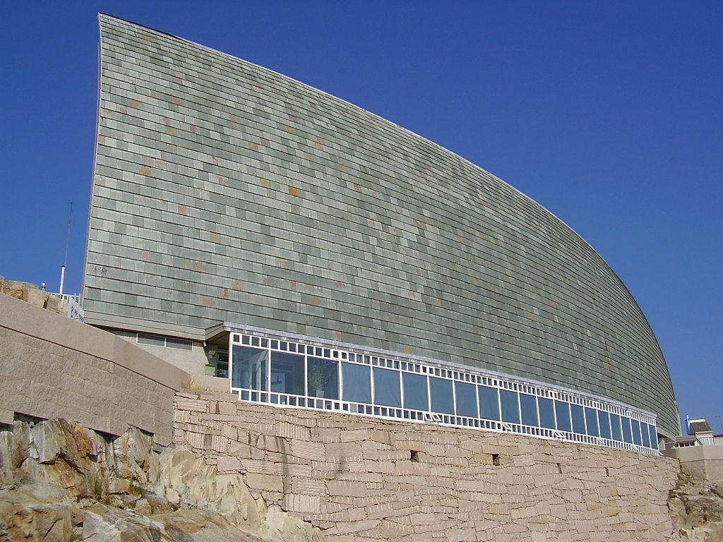 Domus, la Casa del Hombre (La Coruña, España), obra de Arata Isozaki.