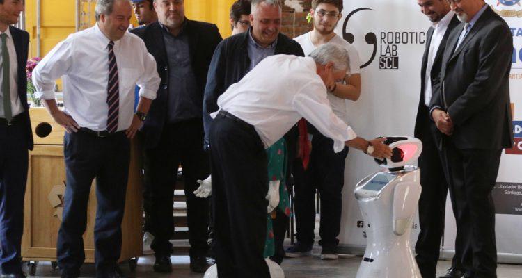 Piñera en actividad del Sence durante el lunes   Sebastián Beltrán   Agencia UNO