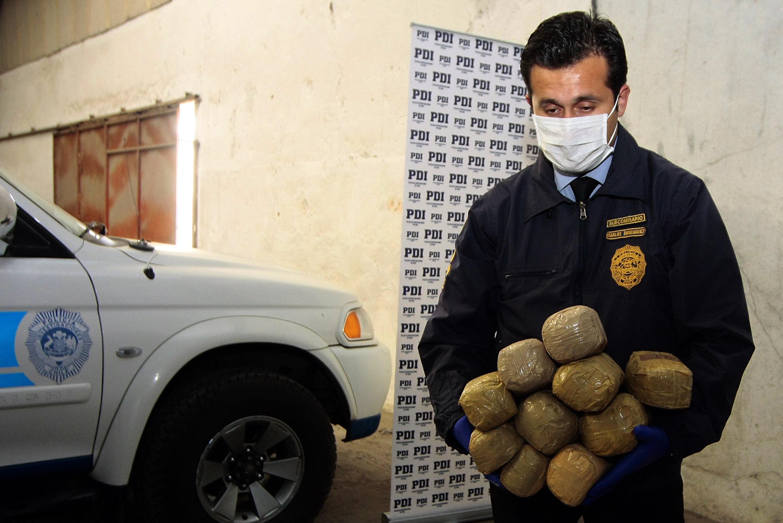 Droga decomisada   Archivo   Víctor Salazar   Agencia UNO
