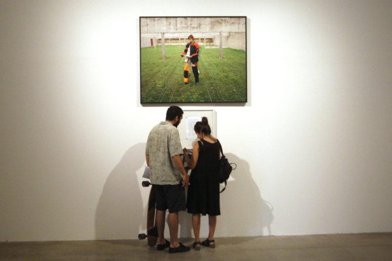 Inauguración exposición Sophie Calle | Foto: Marcelo Hernandez