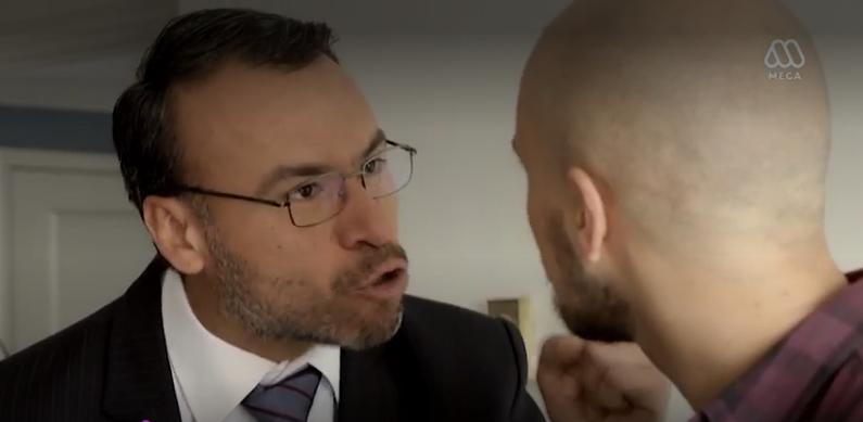 """Personaje de Pedro Campos aparece en """"Juegos de Poder"""""""