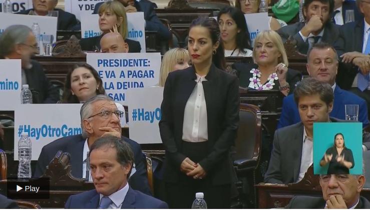 Captura de pantalla | Congreso argentino