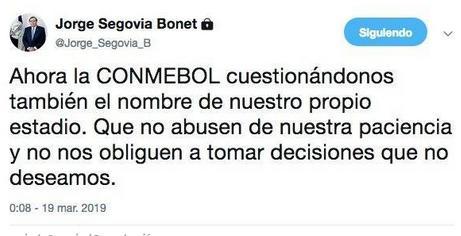 Twitter Jorge Segovia