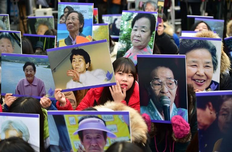 Manifestación de organización de mujeres  abusadas  por soldados japoneses | ARCHIVO | Agence France-Presse