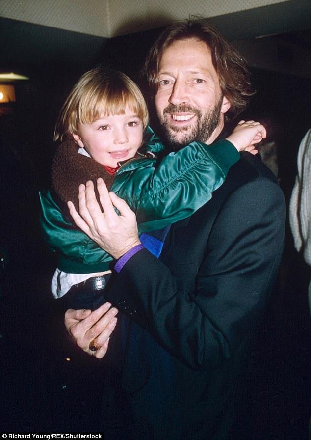 Eric Clapton y su hijo, Connor