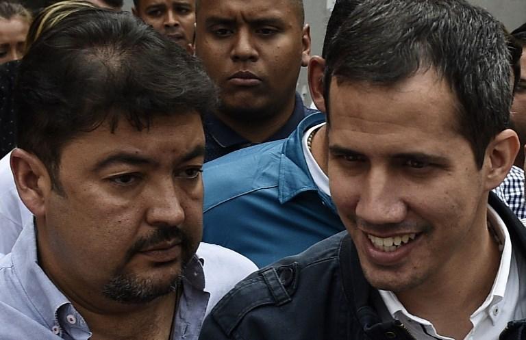 Roberto Marrero y Juan Guaidó   ARCHIVO   Agence France-Presse