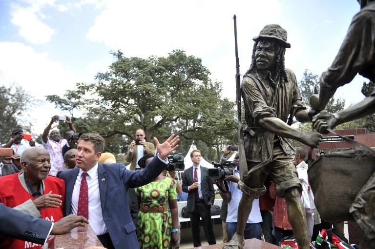 Homenaje británico a los Mau Mau
