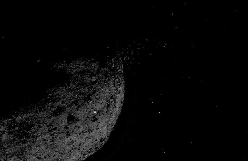 Asteroide expulsando partículas de su superficie el 19 de enero | NASA