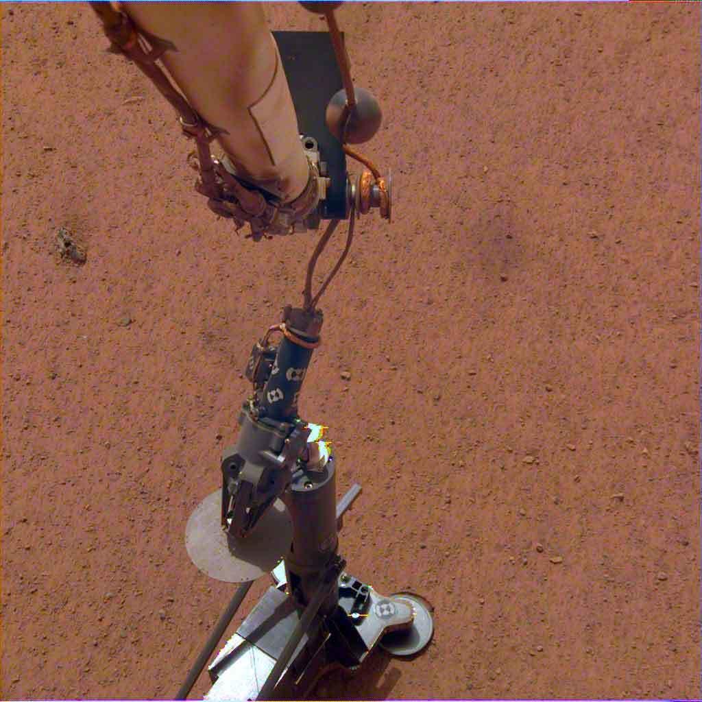 Sonda inSight en la superficie de Marte | NASA
