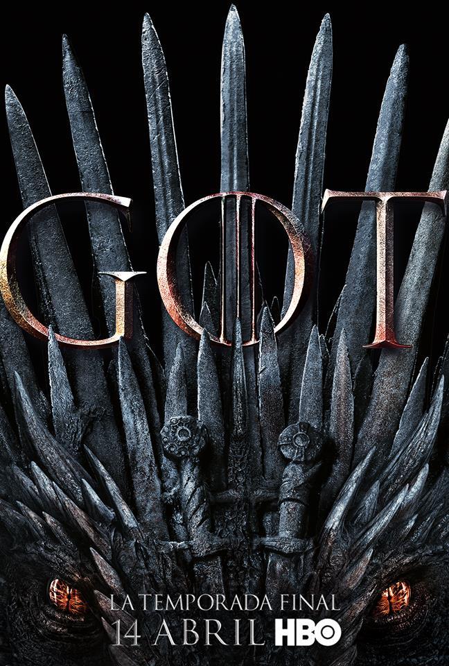 Póster oficial de Game of Thrones 8