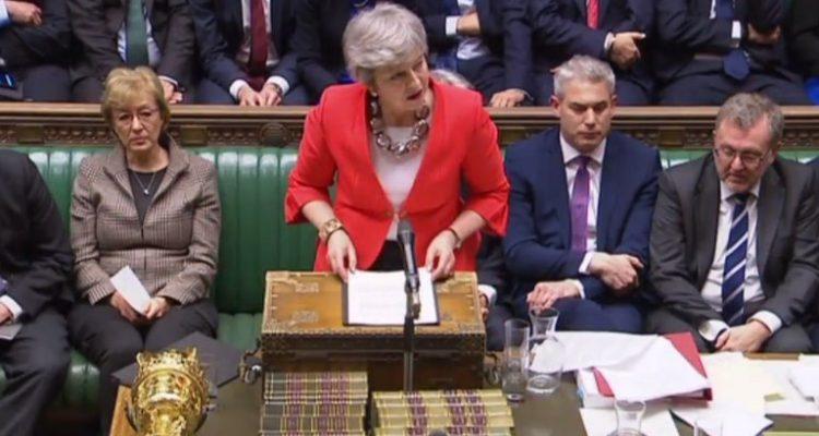 Theresa May el martes | Agence France-Presse